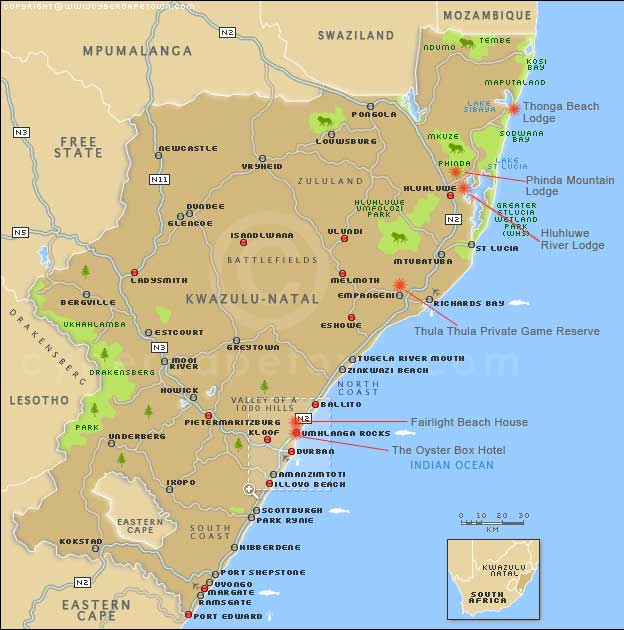 Family Specialist Holidays To South Africa Mauritius The Middle - Mauritius map africa